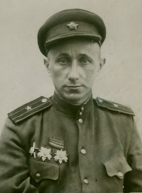 Владимир Максимов. Фото 1945 г.