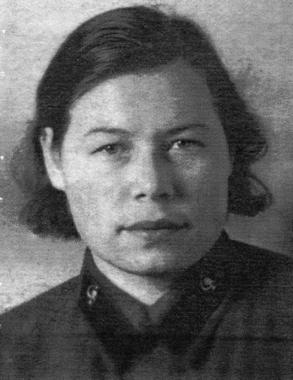 Симакова Раиса Петровна. Военные годы.
