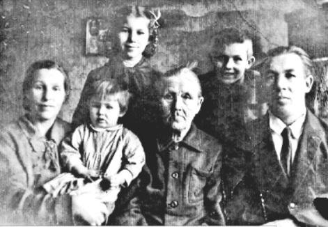 Семья Бакастовых, 1947 год